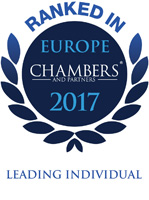 Luca Masotti Ranked In CHAMBERS EUROPE 2017