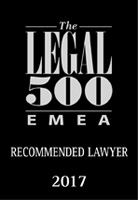 Luca Masotti Ranked in Legal 500 EMEA 2017