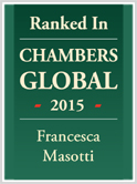 Ranked In CHAMBERS GLOBAL 2015